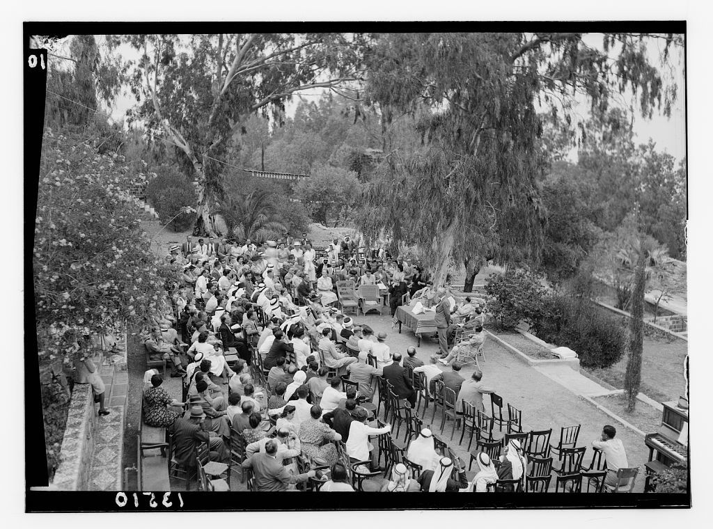 Tiberias, Dr. Torrance's semi jubilee. The speeches, Mr. Whiting speaks as an old timer