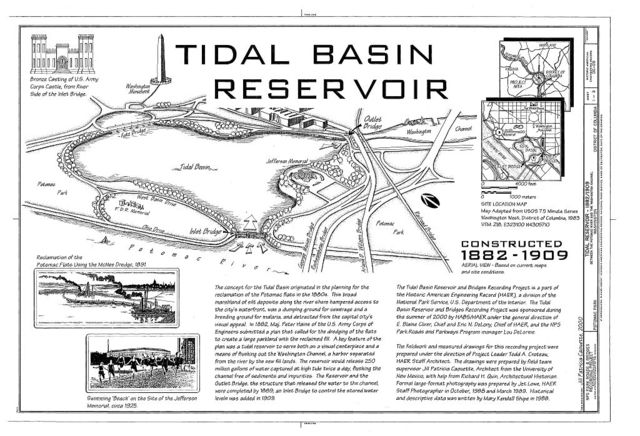 Tidal Reservoir, Between Potomac River & Washington Channel, Washington, District of Columbia, DC