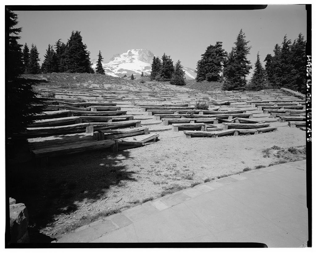 Timberline Lodge, Amphitheater, Timberline Trail, Government Camp, Clackamas County, OR