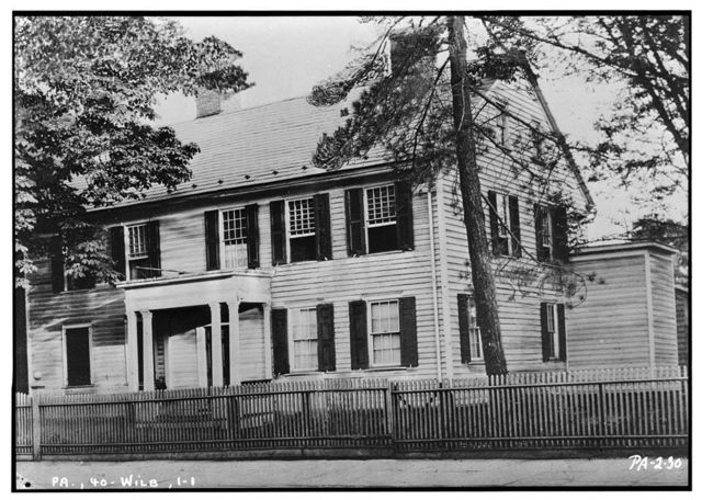 Timothy Pickering House, 130 South Main Street, Wilkes-Barre, Luzerne County, PA