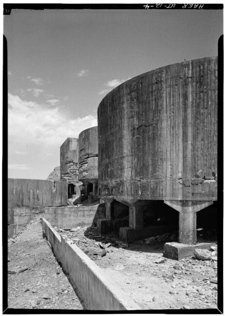 Tintic Standard Reduction Mill, Warm Springs Mountain, Goshen, Utah County, UT