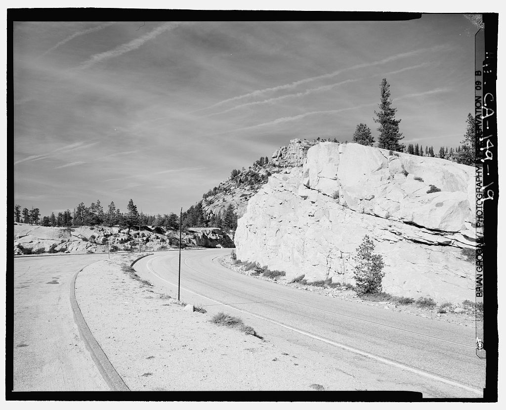 Tioga Road, Between Crane Flat & Tioga Pass, Yosemite Village, Mariposa County, CA