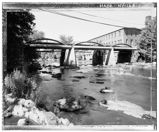 Tioronda Bridge, South Avenue spanning Fishkill Creek, Beacon, Dutchess County, NY