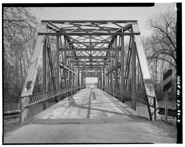 Tipp-Elizabeth Road Bridge, Spanning Great Miami River, Tipp City, Miami County, OH