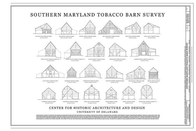 Tobacco Barns of Southern Maryland, Saint Charles, Charles County, MD