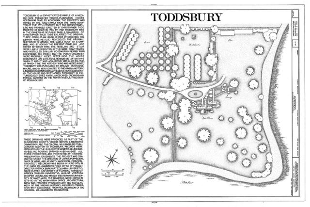 Toddsbury, Vicinity of State Routes 622 & 3-14 Intersection, Nuttall, Gloucester County, VA