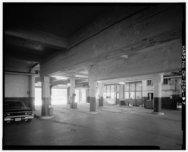 Toledo Parking Garage, 114-134 Superior Street, Toledo, Lucas County, OH
