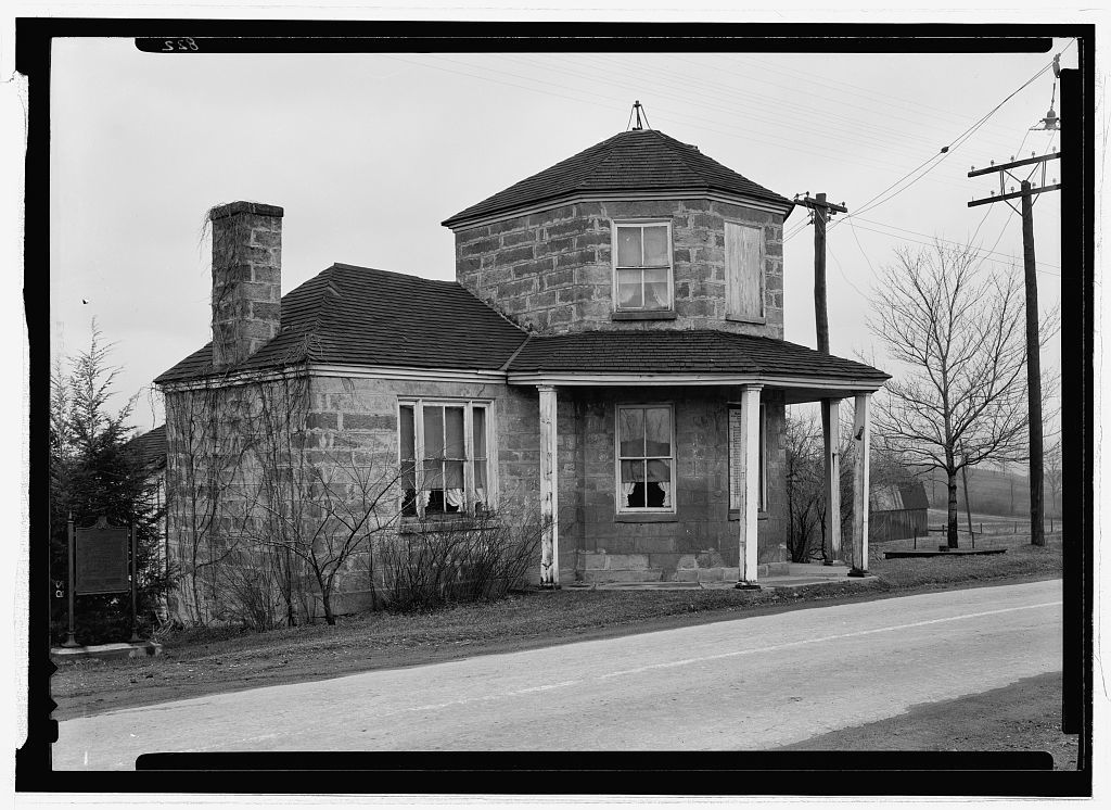 Toll House, U.S. Route 40 (Cumberland Road), Addison, Somerset County, PA
