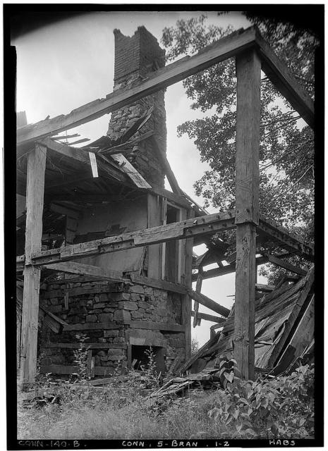 Tolman House (Ruins), North Branford, New Haven County, CT