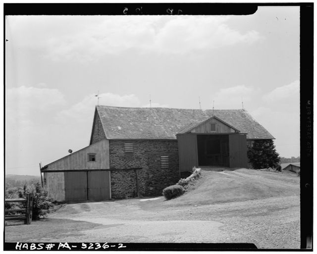 Tom Clark Barn, State Route 52 (Pocopson Township), Lenape, Chester County, PA