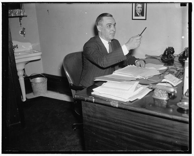 Tom Younger, Custodian of Senate Office bldg., 5/29/37
