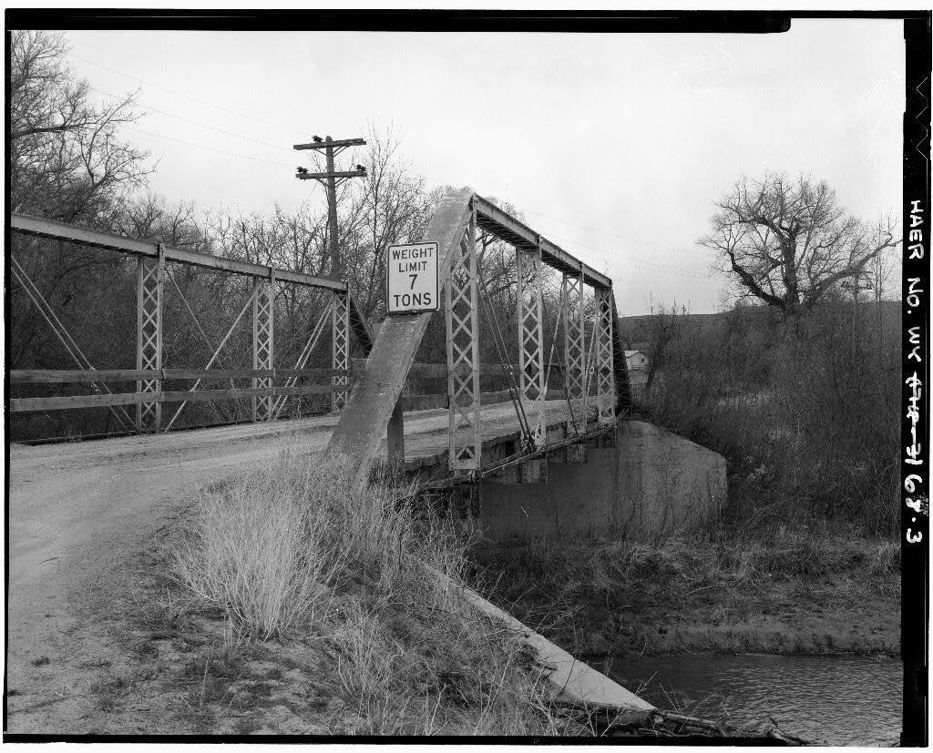Tongue River Bridge, Spanning Tongue River on County Road No. 97, Monarch, Sheridan County, WY