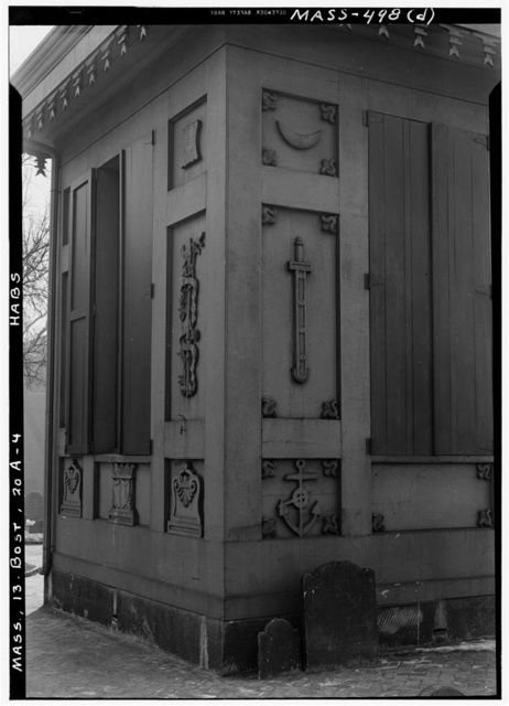 Tool House, Copp's Hill Burial Ground, Boston, Suffolk County, MA