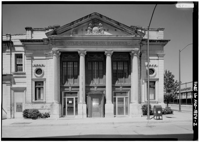 Tootle-Lemon & Company Bankers, Northwest corner Sixth & Francis, Saint Joseph, Buchanan County, MO