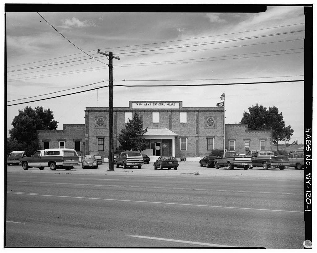Torrington Armory, West of intersection of U.S. Routes 85 & 26, Torrington, Goshen County, WY
