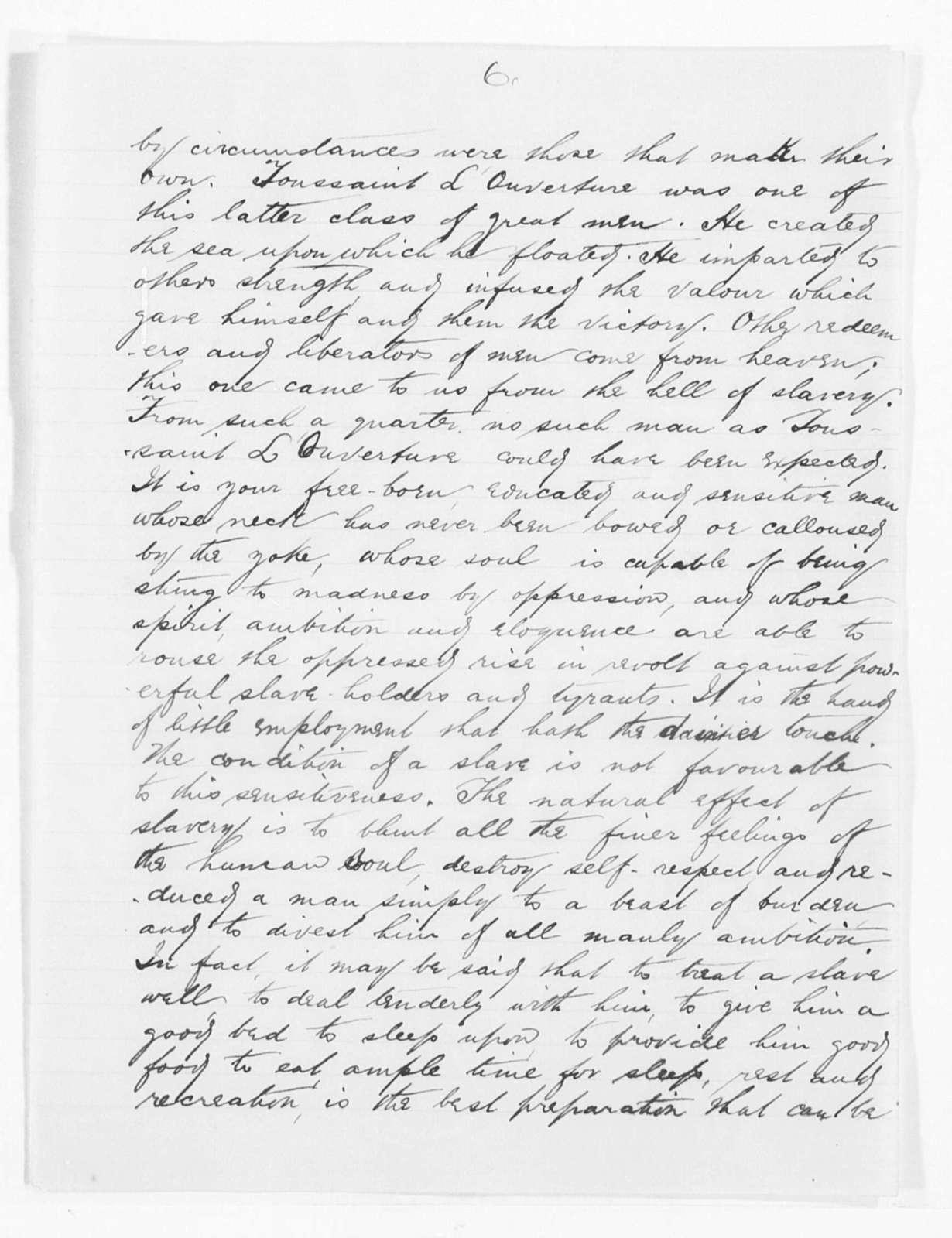 [Toussaint L'Ouverture] - Folder 1 of 2