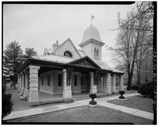 Tower Grove Park, South Gate Lodge, 4255 Arsenal Street, Saint Louis, Independent City, MO