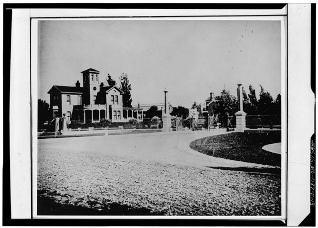 Tower Grove Park, Superintendent's House, 4255 Arsenal Street, Saint Louis, Independent City, MO