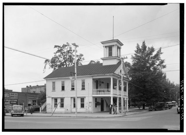 Town Hall, Market & Second Streets, Cheraw, Chesterfield County, SC
