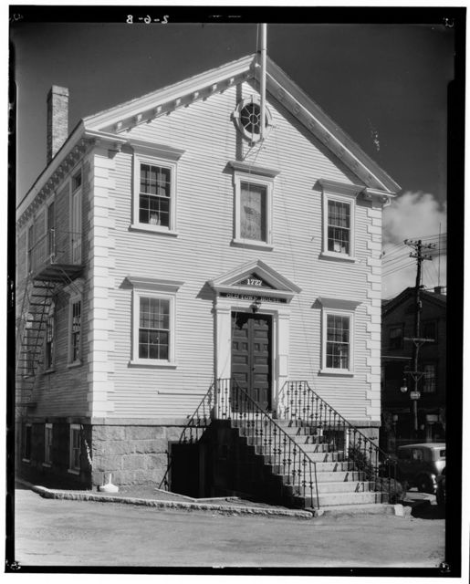 Town House, Market Square, Marblehead, Essex County, MA