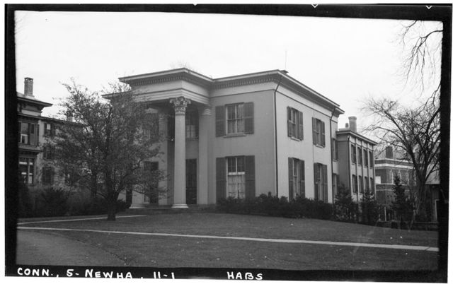 Townshend House, 35 Hillhouse Avenue, New Haven, New Haven County, CT