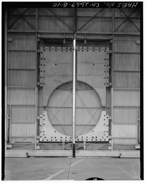 Travis Air Force Base, B-36 Hangar, Between Woodskill Avenue & Ellis, adjacent to Taxiway V & W, Fairfield, Solano County, CA