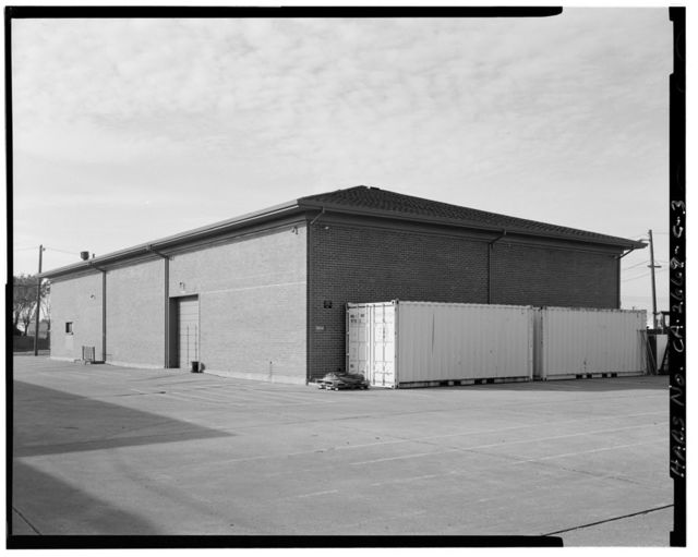 Travis Air Force Base, Base Spares Warehouse No. 1, Dixon Avenue & W Street, Armed Forces Special Weapons Project Q Area, Fairfield, Solano County, CA