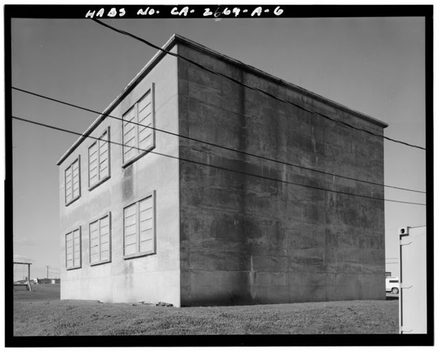 Travis Air Force Base, Building No. 925, W Street, Fairfield, Solano County, CA