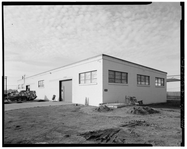 Travis Air Force Base, Inert Spares Storage Building, Dixon Avenue, Armed Forces Special Weapons Project Q Area, Fairfield, Solano County, CA
