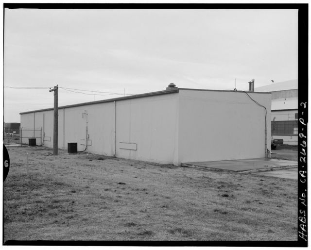 Travis Air Force Base, Small Arms Ammunition Building, W Street, Air Defense Command Readiness Area, Fairfield, Solano County, CA