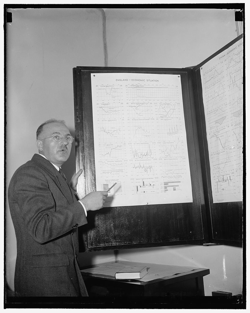 Treasury expert. Washington, D.C., June 21. This is a new photograph of Harry D. White, Director of Monetary Research for the U.S. Treasury