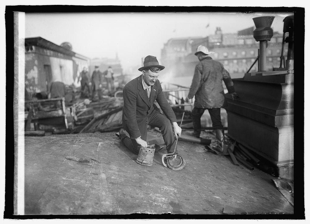 Treasury fire Jos. O'Keefe, 2/8/22