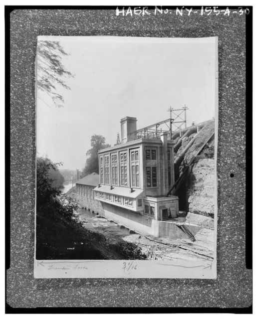 Trenton Falls Hydroelectric Station, Powerhouse & Substation, On west bank of West Canada Creek, along Trenton Falls Road, 1.25 miles north of New York Route 28, Trenton Falls, Oneida County, NY