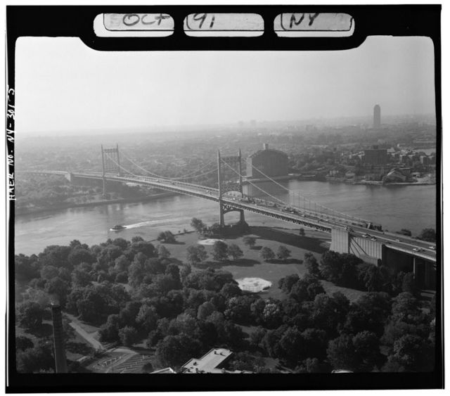 Triborough Bridge, Passing through Queens, Manhattan & the Bronx, Queens (subdivision), Queens County, NY