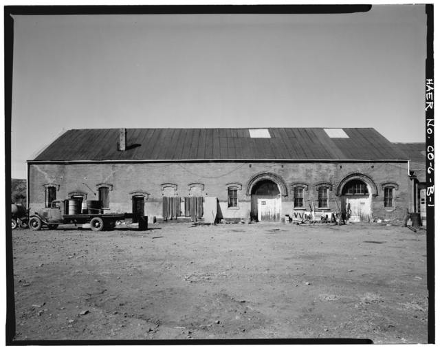 Trinidad Foundry & Machine Company, Pattern Shop, Goddard Avenue, Trinidad, Las Animas County, CO