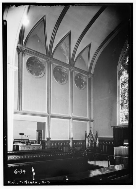 Trinity Cathedral Church, Rector & Broad Streets, Newark, Essex County, NJ