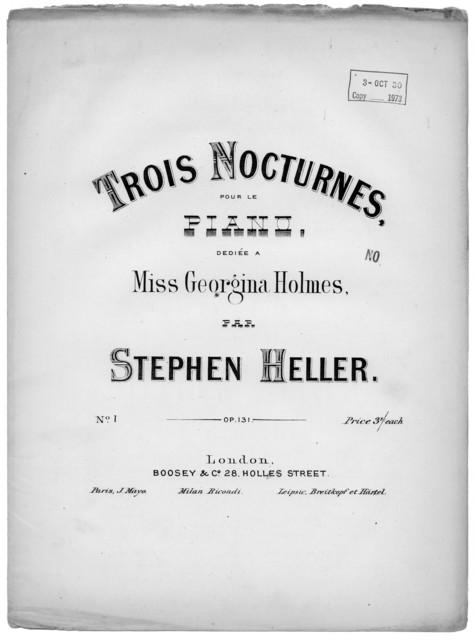 Trois nocturnes, op. 131, no. 1