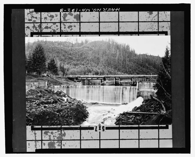 Trout Creek Dam, River Mile 1.8 on Trout Creek, Carson, Skamania County, WA