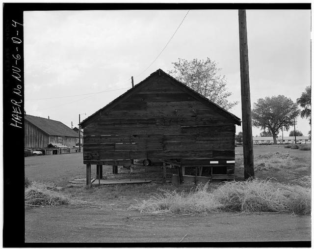 Truckee-Carson Irrigation District Facility Yard, Shed, Sixth & Taylor Streets, Fallon, Churchill County, NV