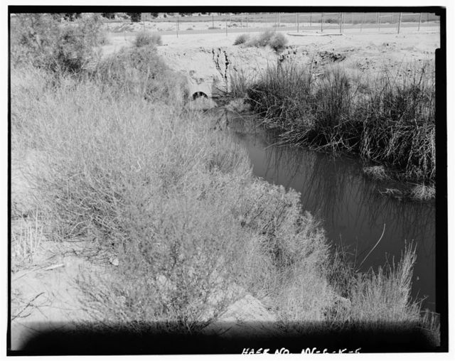 Truckee-Carson Irrigation District, Lower Diagonal No. 1 Drain, Bounded by West Gate Road & Weapons Delivery Road, Naval Air Station Fallon, Fallon, Churchill County, NV