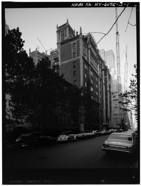 Tudor City Complex, The Hermitage, East Forty-third Street, New York, New York County, NY