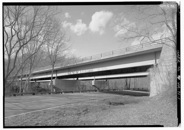 Turkey Run Bridge, Spanning Turkey Run & access road, McLean, Fairfax County, VA