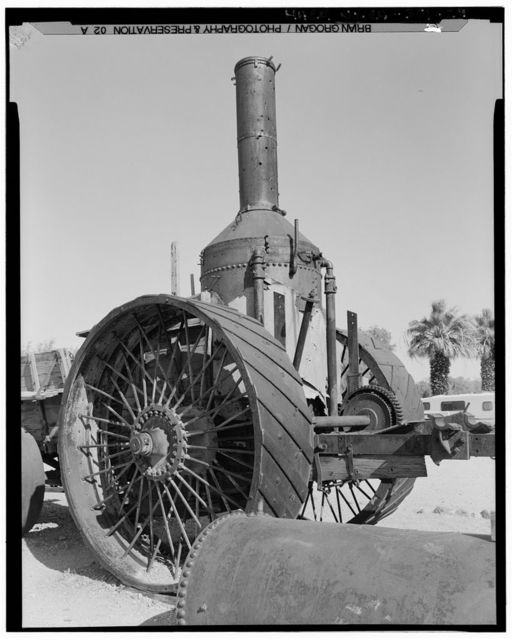 Twenty Mule Team Borax Wagons, Death Valley Junction, Inyo County, CA
