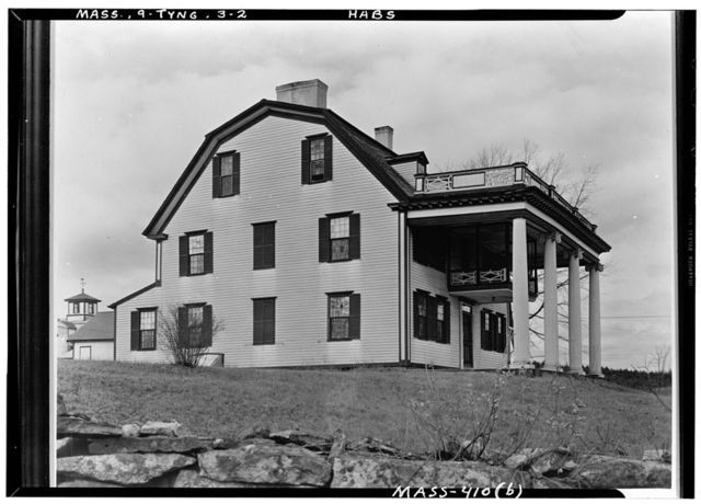Tyng House, Tyngsboro, Middlesex County, MA
