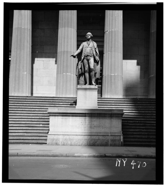 U. S. Custom House, 28 Wall Street, New York, New York County, NY