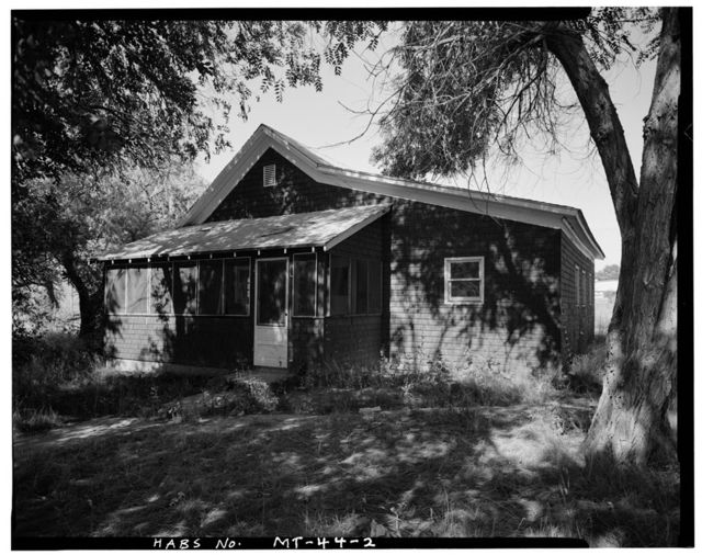 U. S. Indian Service Laborer's Cottage, Lame Deer, Rosebud County, MT