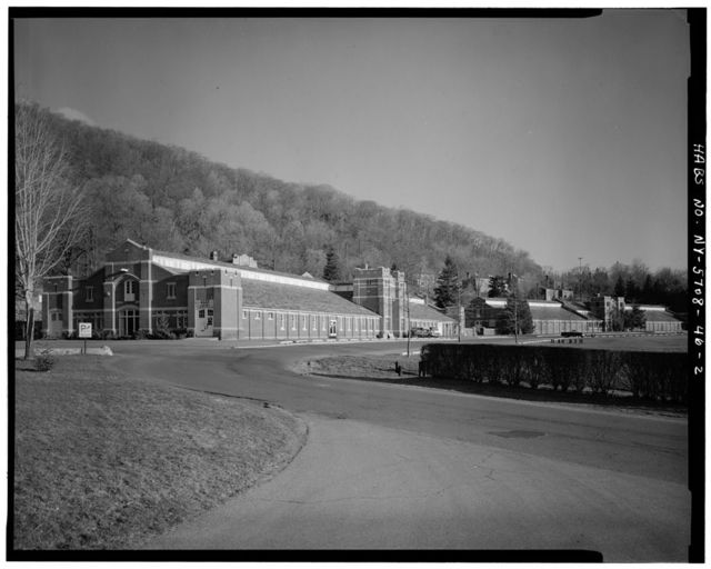 U. S. Military Academy, Artillery Stables, West Point, Orange County, NY