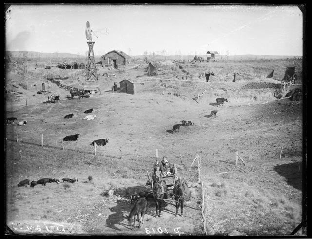 Ulric Uhman, Round Valley,  Custer County, Nebraska