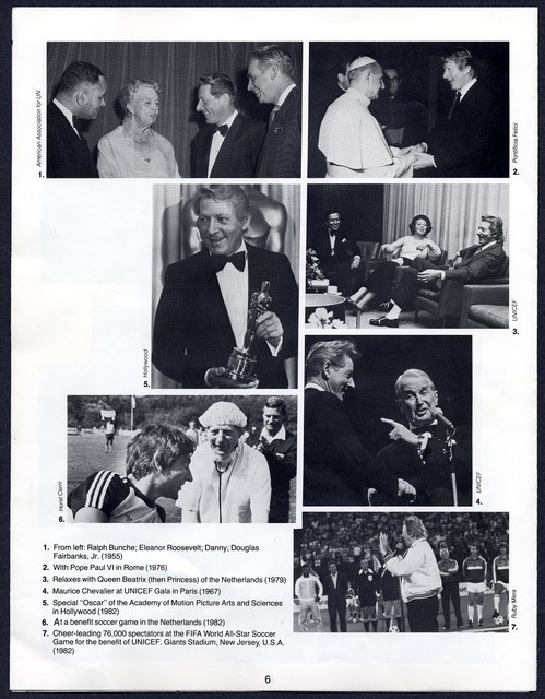 UNICEF Salutes Danny Kaye, May 10?, 1983