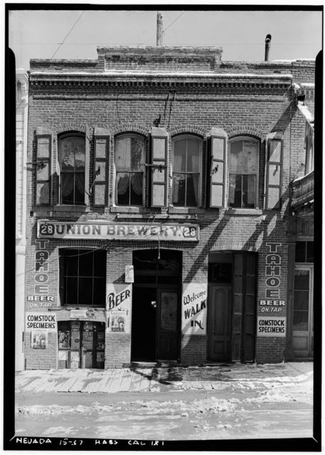 Union Brewery, Virginia City, Storey County, NV